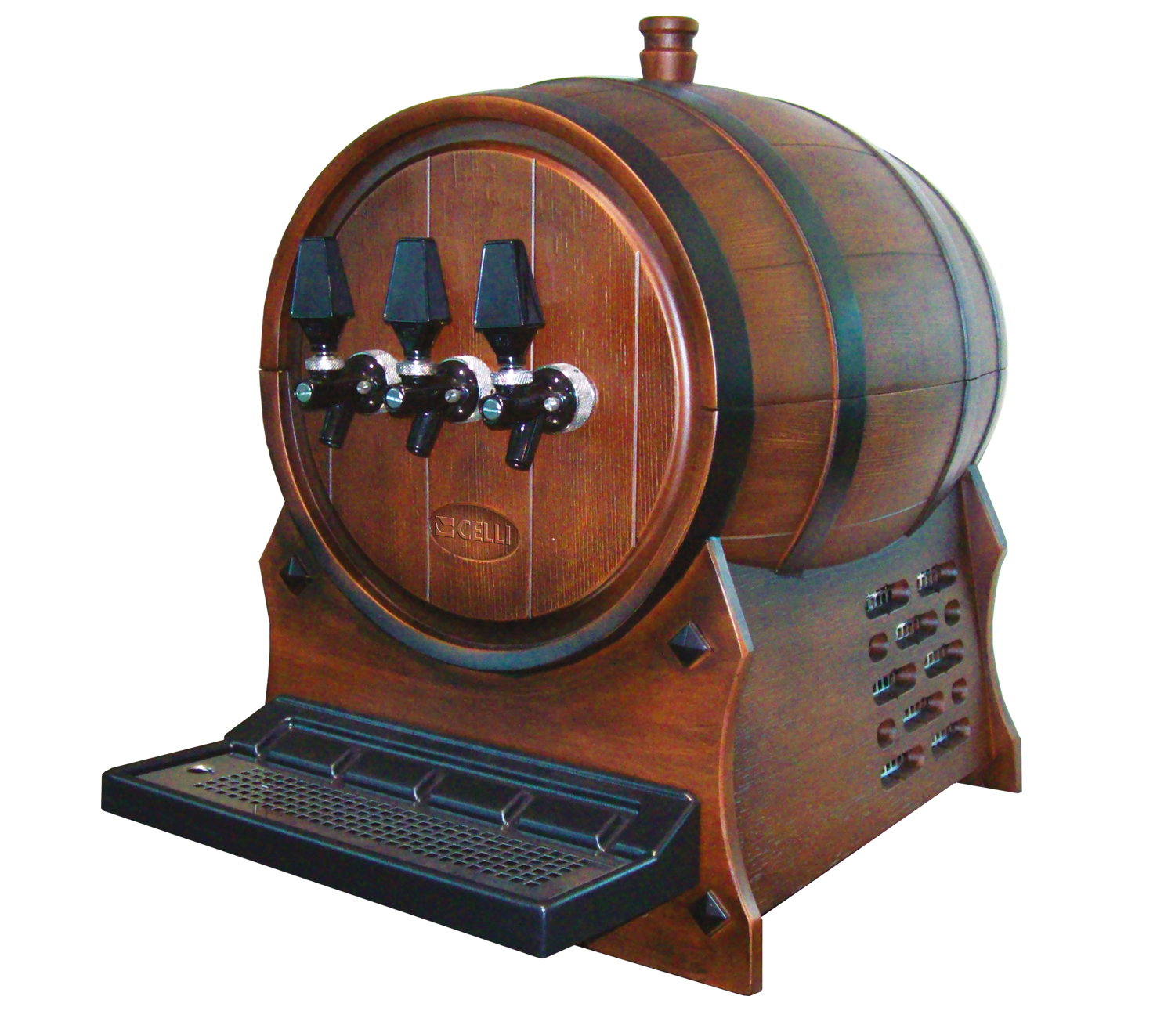 For your wine on draft, the range Celli.